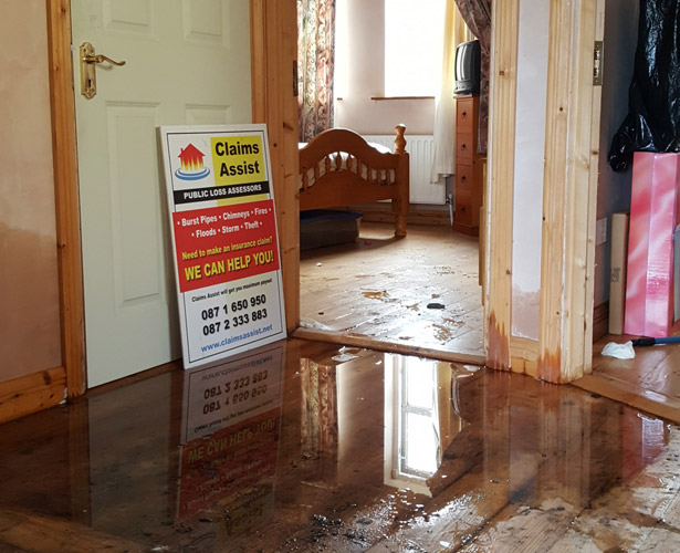 Burst Pipes Water Leaks Insurance Claims Ist