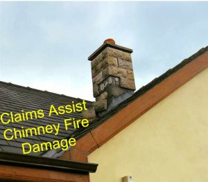 Claims Assessor Chimney Fire Claim